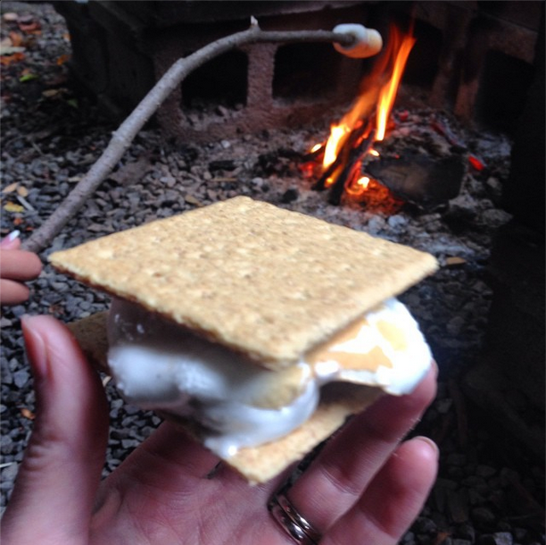 Smores, Photo by Stephanie Sadler, Little Observationist
