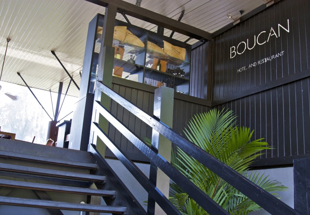 Restaurant Boucan, Hotel Chocolat, Saint Lucia by Stephanie Sadler