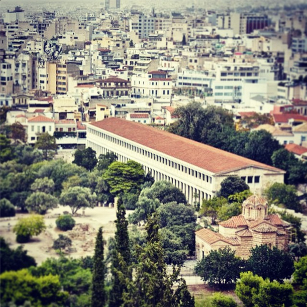 Athens by Stephanie Sadler