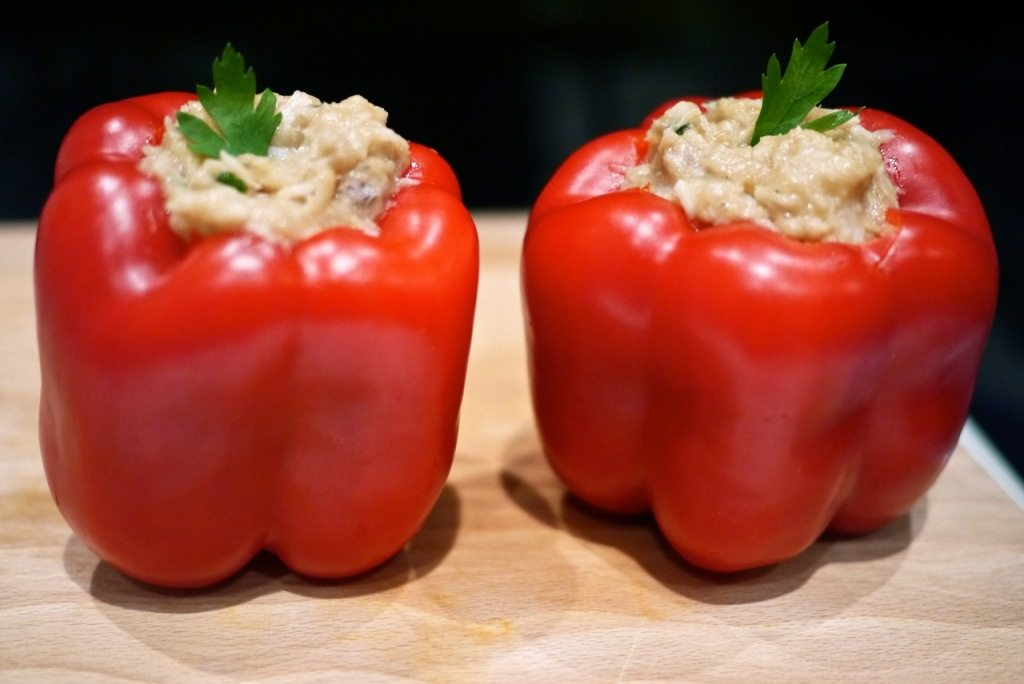 Recipe stuffed peppers Little Observationist