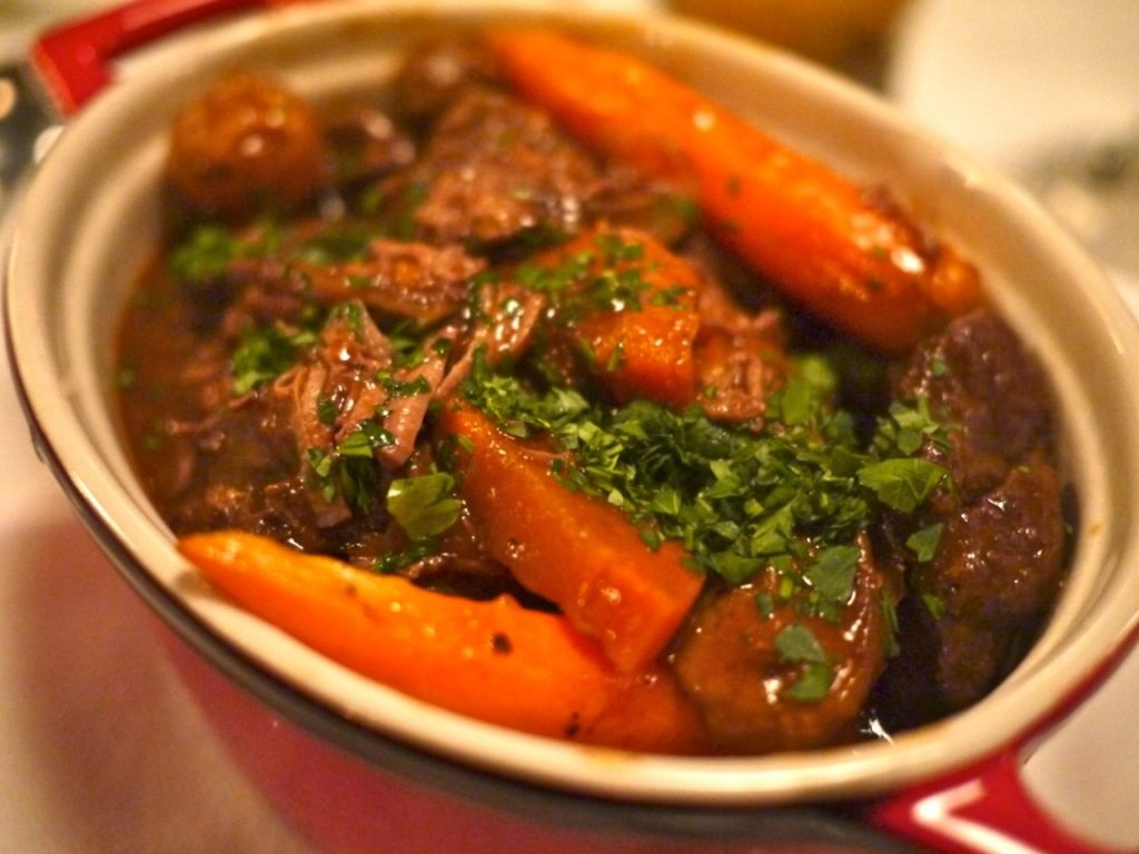Webster's Beef Bourguignon - 22 The iconic French dish of beef stewed with aromatic vegetables, herbs and spices