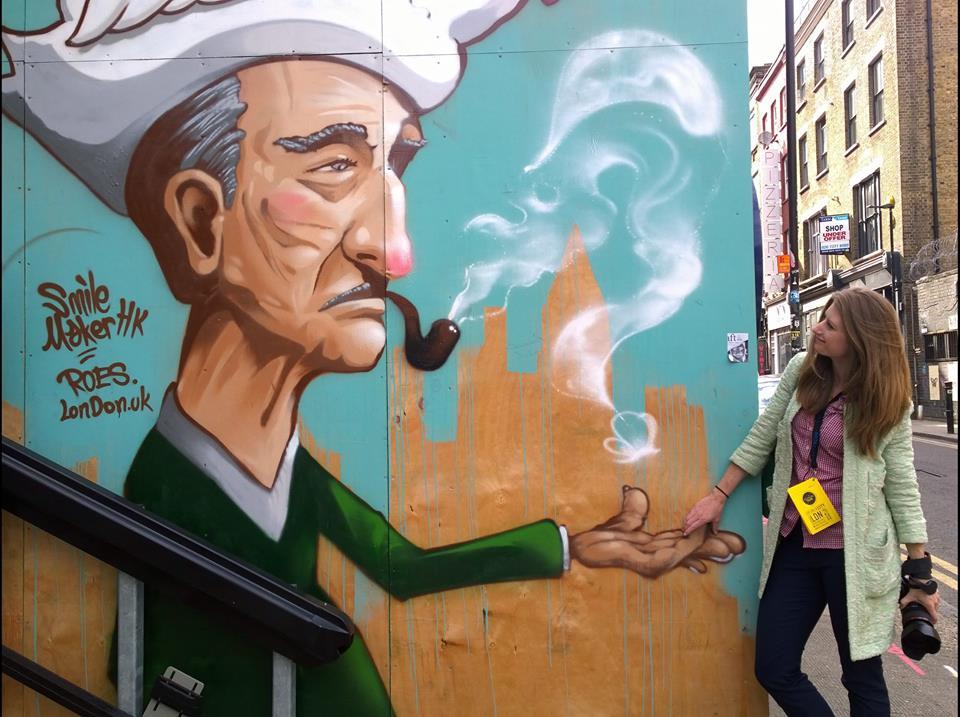 Stu's photo - Hanbury Street - Street art by Roes