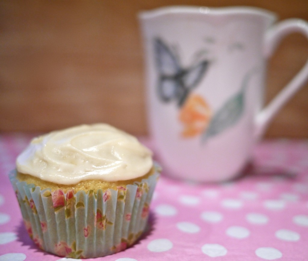 Ruby Tandoh's Camomile and Vanilla Cupcakes, Little Observationist