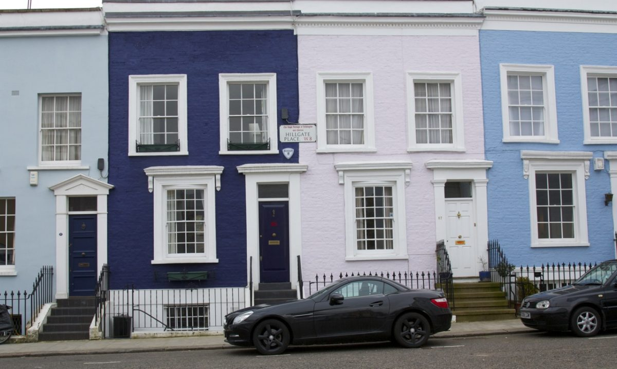 The Colourful Houses Of Notting Hill Little Observationist