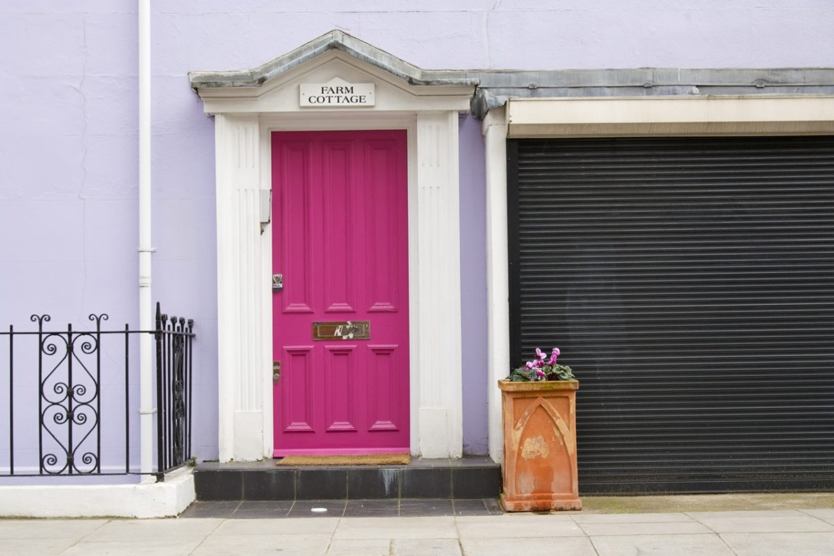 The Colourful Houses of Notting Hill - Little Observationist