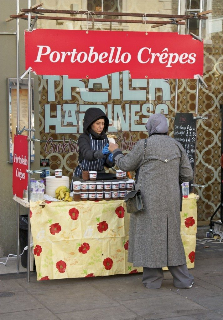 Portobello Market, London by Stephanie Sadler, Little Observaionist