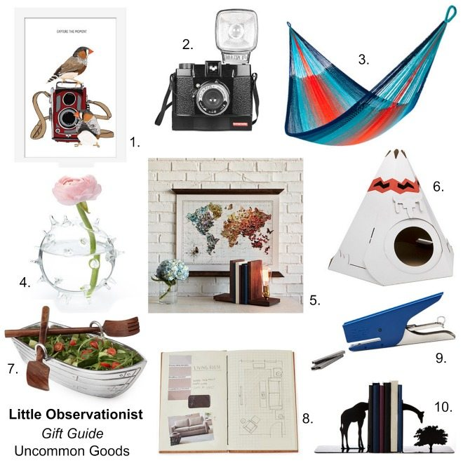 Uncommon Goods gift guide, Little Observationist