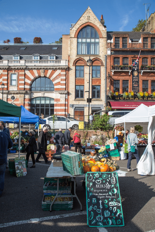 Marylebone Farmers Market, London by Stephanie Sadler, Little Observationist