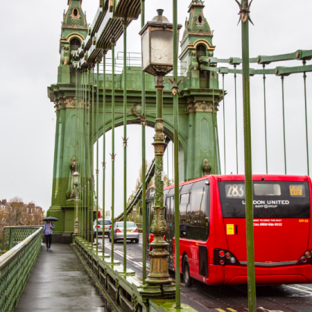 Fulham to Hammersmith, London by Stephanie Sadler, Little Observationist