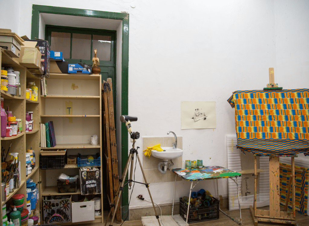 Pedro Paricio Studio in Tenerife by Stephanie Sadler, Little Observationist