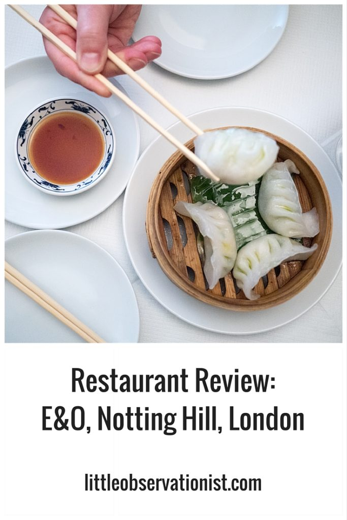 E&O, Notting Hill by Stephanie Sadler, Little Observationist