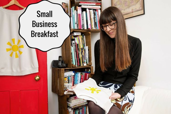 Small Business Breakfast with Becky Lupton, PJ Mamma, Little Observationist2 header