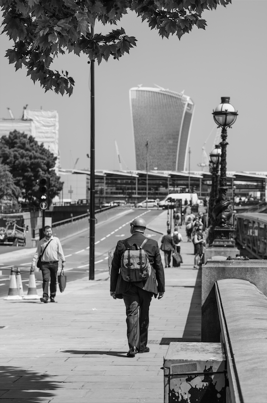 A London Walk - EC1 to Embankment by Stephanie Sadler, Little Observationist