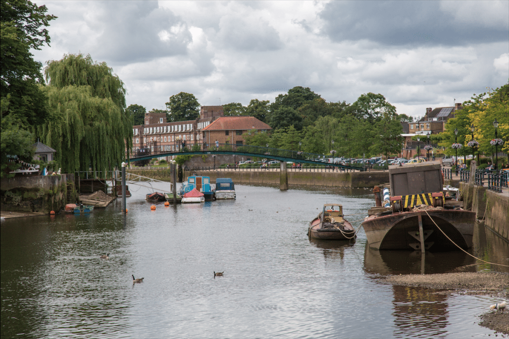 Eel Pie Island and York House Gardens by Stephanie Sadler, Little Observationist
