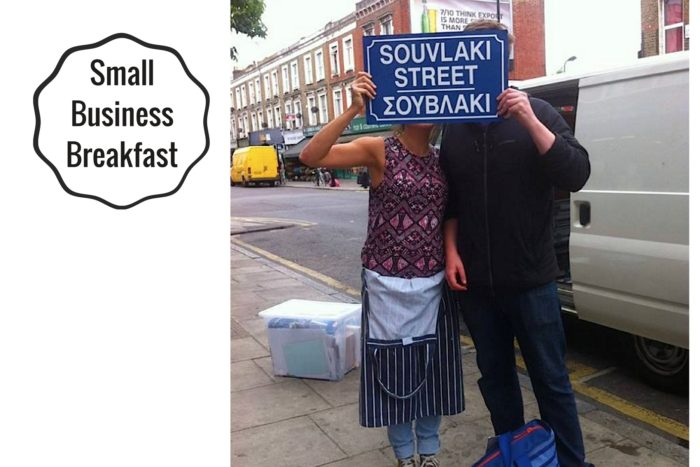 Small Business Breakfast Interview with Souvlaki Street by Stephanie Sadler, Little Observationist