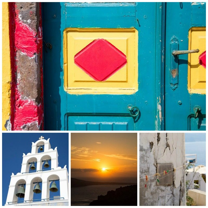 Exploring Greece - Oia Santorini by Stephanie Sadler, Little Observationist