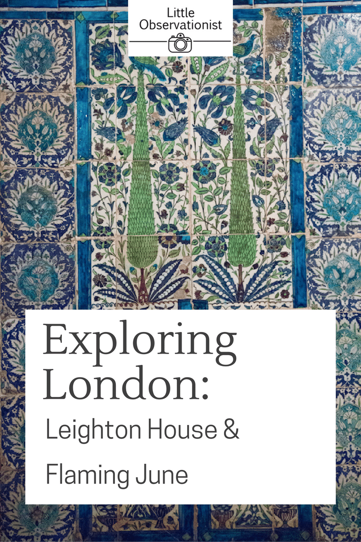 Leighton House, London by Stephanie Sadler, Little Observationist